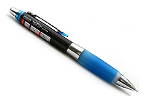 Uni Alpha Gel HD Shaka Shaker Pencil - 0.5 mm - Black Body - Royal Blue Grip - UNI M5618GG1P .40