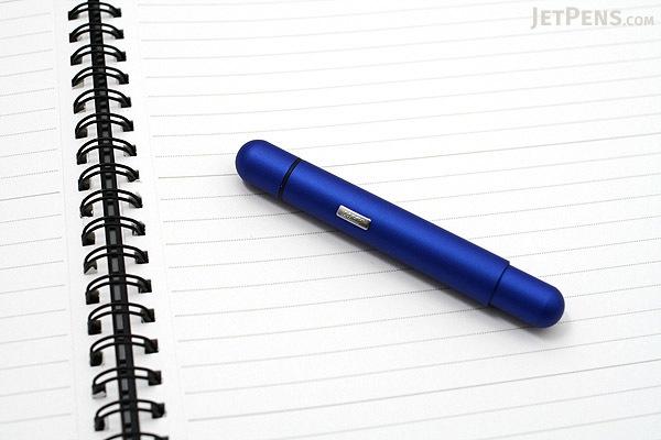 Lamy Pico Pocket Size Extendable Ballpoint Pen - 0.7 mm Medium Point - Blue Body - LAMY L288BE