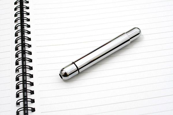 Lamy Pico Pocket Size Extendable Ballpoint Pen - 0.7 mm Medium Point - Chromium Body - LAMY L289