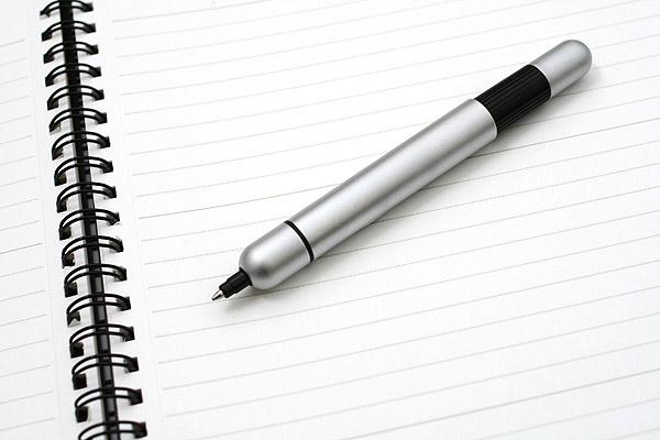 Lamy Pico Pocket Size Extendable Ballpoint Pen - 0.7 mm Medium Point - Pearl Chrome Body - LAMY L287