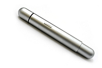 Lamy Pico Pocket Size Extendable Ballpoint Pen - 0.7 mm Medium Point - Pearl Chrome Body - LAMY L287
