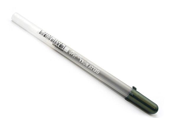 Sakura Gelly Roll Gold Shadow Gel Pen - 0.7 mm - Black - SAKURA 38757