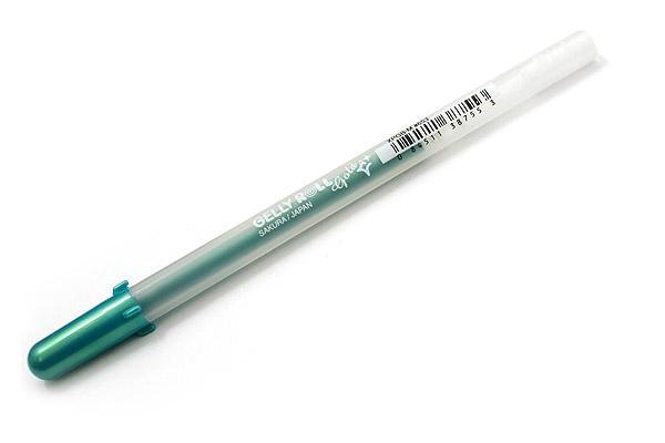 Sakura Gelly Roll Gold Shadow Gel Pen - 0.7 mm - Green - SAKURA 38755