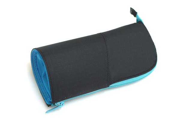 Kokuyo Neo Critz Transformer Pencil Case - Dark Blue / Blue - KOKUYO F-VBF121-1