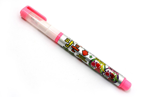 Dong-A Popcorn Puffy Paint Special Liquid Ink Pen - Pink - DONGA POPCORN PINK