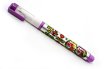 Dong-A Popcorn Puffy Paint Special Liquid Ink Pen - Violet - DONGA POPCORN VIOLET