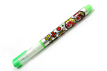 Dong-A Popcorn Puffy Paint Special Liquid Ink Pen - Lime Green - DONGA POPCORN YELLOW GREEN