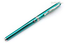 Pilot Hi-Tec-C Cavalier Executive Gel Ink Pen - 0.4 mm - Green Body - Black Ink - PILOT LCA-1SRC4-G
