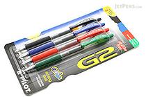 Pilot G2 Gel Pen - 0.38 mm - 4 Color Pack - PILOT G23C4001