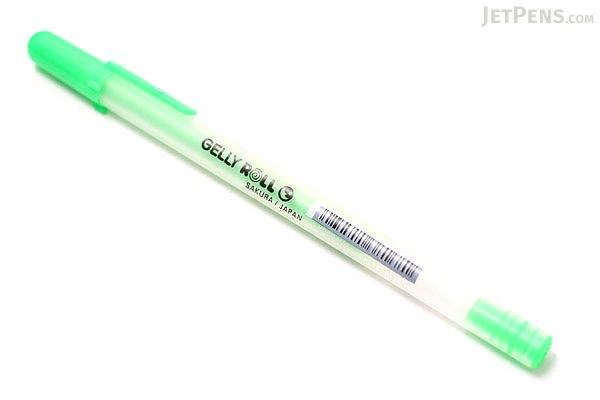 Sakura Gelly Roll Moonlight Gel Pen - 1.0 mm - Fluorescent Green - SAKURA 38168