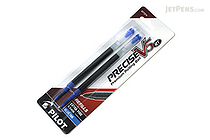 Pilot Precise V5 RT Rollerball Pen Refill - 0.5 mm - Blue - Pack of 2 - PILOT PV5RRBLU