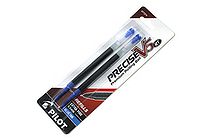 Pilot Precise V5 RT Rollerball Pen Refill - 0.5 mm - Blue - Pack of 2 - PILOT 77274