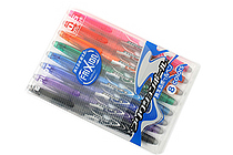 Pilot FriXion Erasable Gel Pen - 0.5 mm - 8 Color Set - PILOT LFB-160EF-8CN