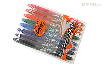 Pilot FriXion Erasable Gel Pen - 0.7 mm - 8 Color Set - PILOT LFB-160F-8CN