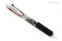 Uni Jetstream 3 Color Ballpoint Multi Pen - 0.7 mm - Clear Body - UNI SXE340007.T