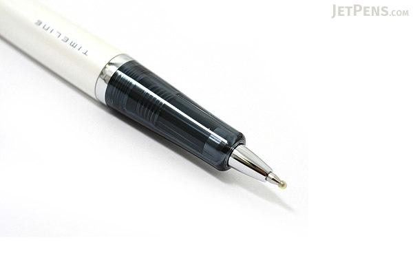 Pilot Timeline Present Ballpoint Pen - 0.7 mm - Snow White Body - PILOT BTL-3SR-SW