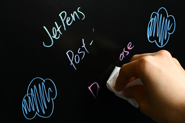 Kuretake Dry Erase Liquid Post Chalk Marker Pen - Pink - KURETAKE CH-990-021