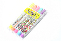 Dong-A Popcorn Puffy Paint Special Liquid Ink Pen - 5 Color Set - DONGA POPCORN 5SET