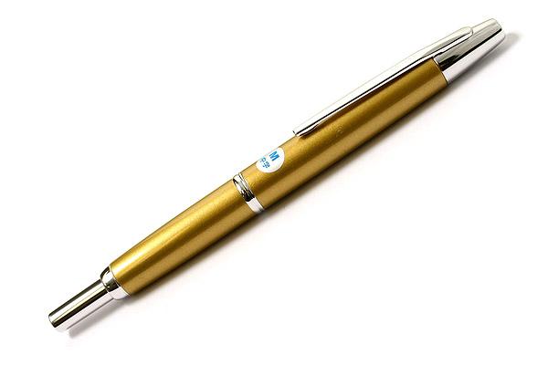 Pilot Capless Decimo Fountain Pen - 18K Gold Medium Nib - Harvest Yellow - PILOT FCT-15SR-HY-M