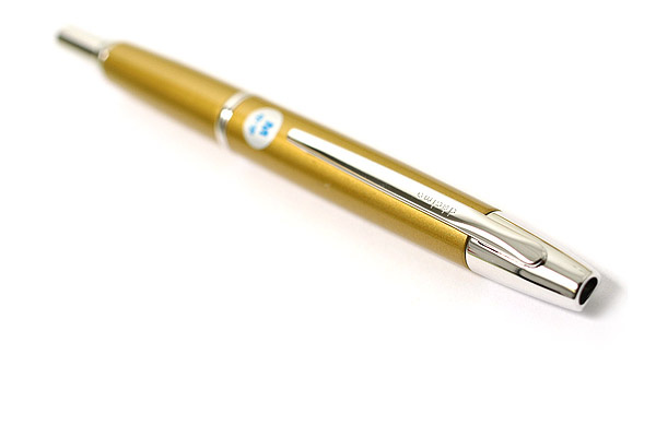 Pilot Capless Decimo Fountain Pen - 18K Gold Medium Nib - Harvest Yellow - PILOT FCT-15SR-HY-M
