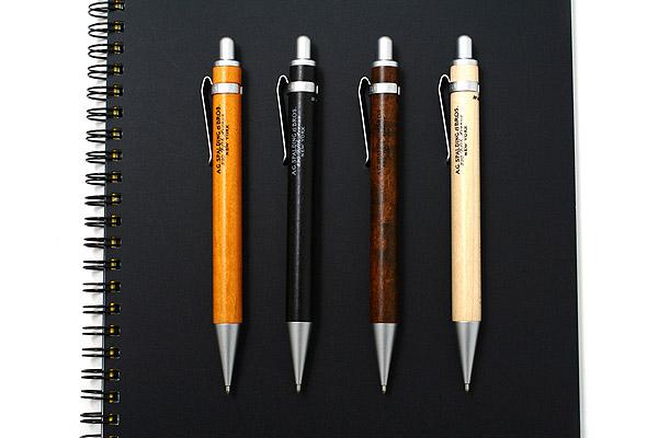 A.G. Spalding & Bros BRM114 Mechanical Pencil - 0.5 mm - Maple Wood - Black Body - RAYMAY BRM114 B