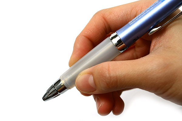 Uni-ball Signo Premier 207 Retractable Gel Ink Pen - 0.5 mm - Blue Body - Blue Ink - UNI UMN-207 GG BLUE