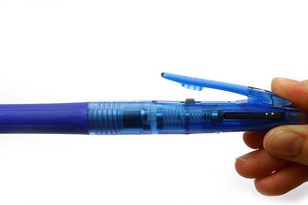 Zebra Sarasa 3 Color Gel Ink Multi Pen - 0.5 mm - Blue Body - ZEBRA J3J2-BL