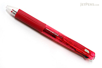 Zebra Sarasa 3 Color Gel Ink Multi Pen - 0.5 mm - Wine Red Body - ZEBRA J3J2-WR