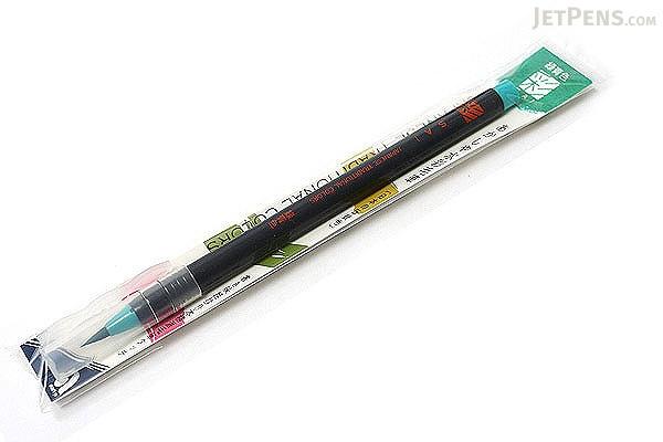 Akashiya Sai Watercolor Brush Pen - Green - AKASHIYA CA200-05