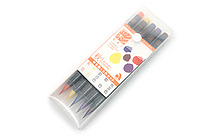 Akashiya Sai Watercolor Brush Pen - 5 Autumn Color Set - AKASHIYA CA200-5VC