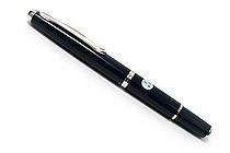 Pilot Capless Fermo Fountain Pen - 18K Gold Fine Nib - Dark Blue - PILOT FCF-2MR-DL-F