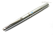 Pilot Capless Fermo Fountain Pen - Diamond Silver - 18K Gold Fine Nib - PILOT FCF-2MR-DS-F