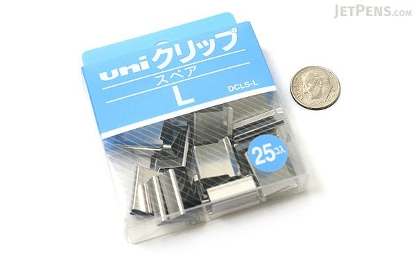 Uni Reusable Paper Clip - Size Large - Box of 25 - UNI DCLSL