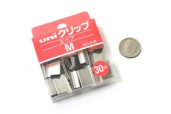 Uni Reusable Paper Clip - Size Medium - Box of 30 - UNI DCLSM