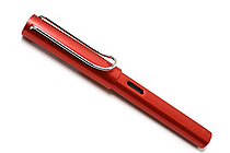 Lamy Fountain Pen - Al-Star Model - Extra Fine Nib - Raspberry Red Body & Chrome Clip - LAMY L23REF