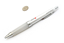 Uni Jetstream Ballpoint Pen - 0.7 mm - Alpha Gel Grip Series - Silver Body - UNI SXN1000071P26