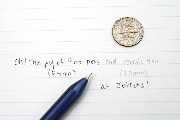 Zebra Sharbo Smartline 0.4 mm Ballpoint Multi Pen + 0.3 mm Pencil - Blue Body - ZEBRA SBA12-BL