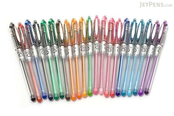 Pentel Slicci Gel Ink Pen - 0.4 mm - Coral Pink Ink - PENTEL BG204-P3