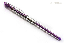 Pentel Slicci Gel Ink Pen - 0.4 mm - Purple Ink - PENTEL BG204-V
