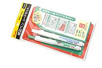 Pentel Handy-lineS Memorization Aid Highlighter Pen Set - Green Pen & Eraser Pen & Red SheetHighlighter - PENTEL XSXS18S2