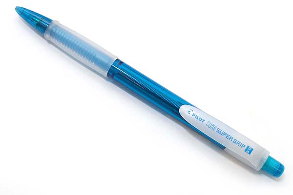 Pilot Fure Fure Shaker Super Grip Mechanical Pencil - 0.5 mm - Clear Light Blue Body - PILOT HFGP-20R-CLB