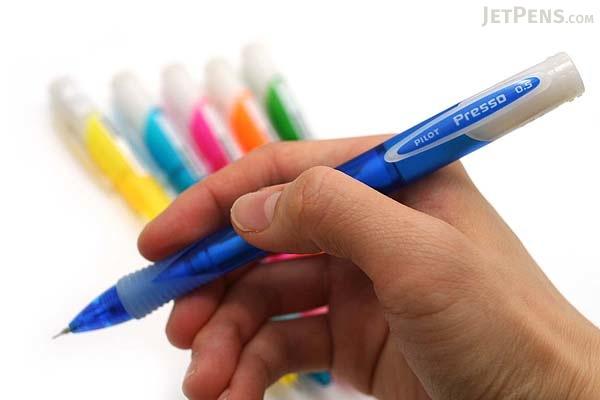 Pilot Presso Side Knock Mechanical Pencil - 0.5 mm - Pink Body - PILOT HPRS-20R-P