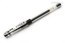 Pilot Hi-Tec-C Gel Pen with Grip - 0.3 mm - Black - PILOT LHG-20C3-B