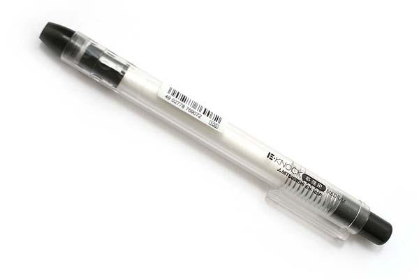 Uni E-Knock Eraser - Black Body - UNI EH105P.24