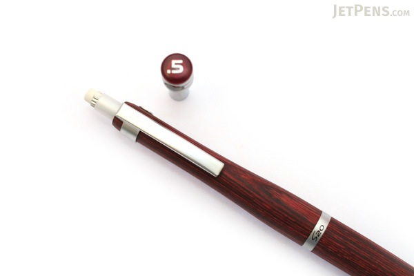 Pilot S20 Drafting Pencil - 0.5 mm - Deep Red Body - PILOT HPS-2SK-DR5