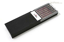 Uni Mitsubishi Hi-Uni Pencil - 2B - Box of 12 - UNI HU2B BUNDLE