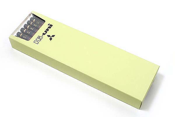 Uni Mitsubishi Hi-Uni Pencil - 2H - Box of 12 - UNI HU2H BUNDLE
