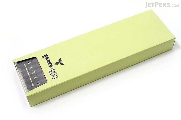 Uni Mitsubishi Hi-Uni Pencil - 4H - Box of 12 - UNI HU4H BUNDLE