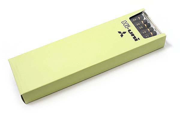 Uni Mitsubishi Hi-Uni Pencil - 5B - Box of 12 - UNI HU5B BUNDLE