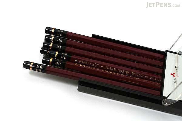 Uni Mitsubishi Hi-Uni Pencil - 5H - Box of 12 - UNI HU5H BUNDLE